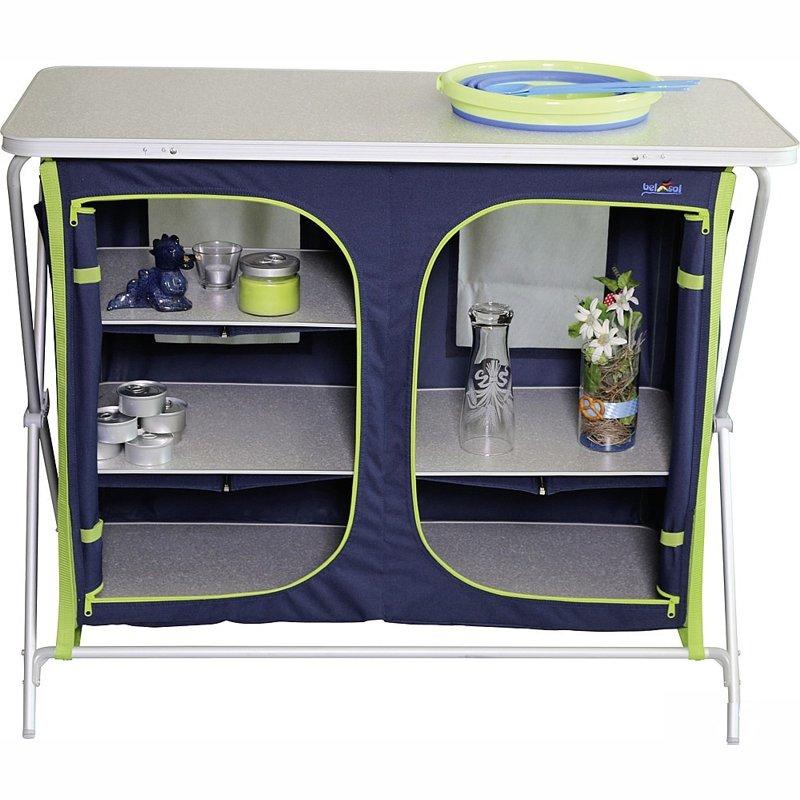 Vorratsschrank / Küche XXL Camping Möbel Küchenmöbel